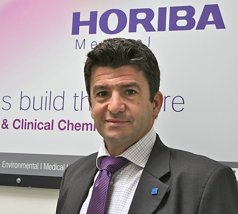 Arnaud Pradel, Vice President of Horiba Medical