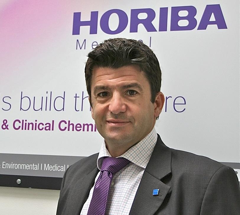 Arnaud Pradel, Vice-Président Horiba Medical