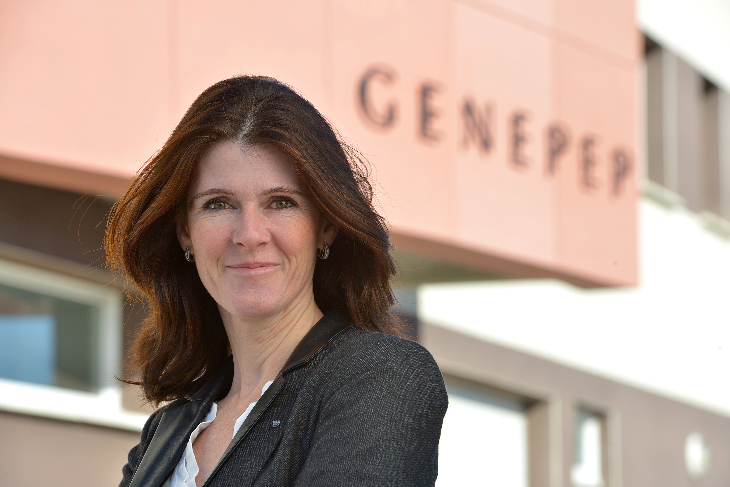 Karine Puget, CEO of Genepep