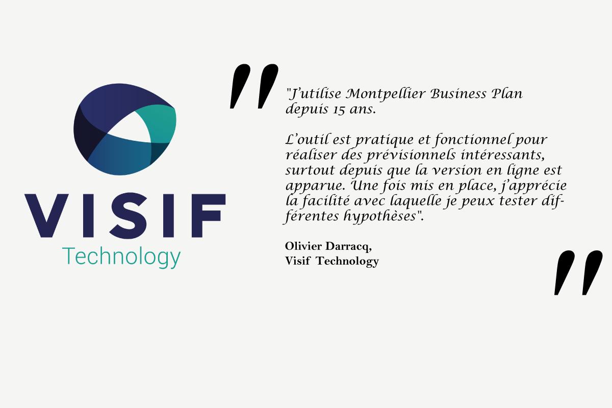 Témoignage d'Olivier Darracq, Directeur des opération de Visif Technology