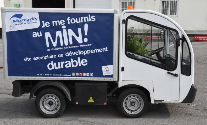 Mercadis (le MIN de Montpellier) est une plateforme d'éclatement des denrées alimentaires.