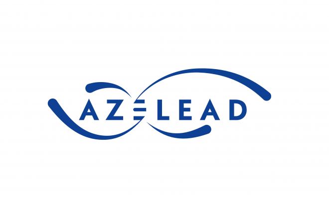 Logo Azelead issu du site internet et dimensionné petite tuile