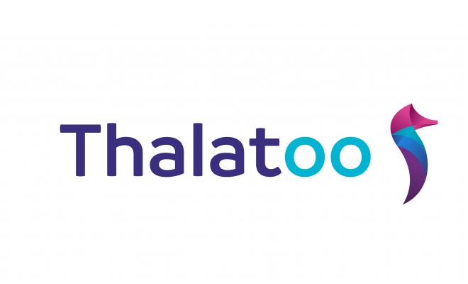Logo Thalatoo-sticker