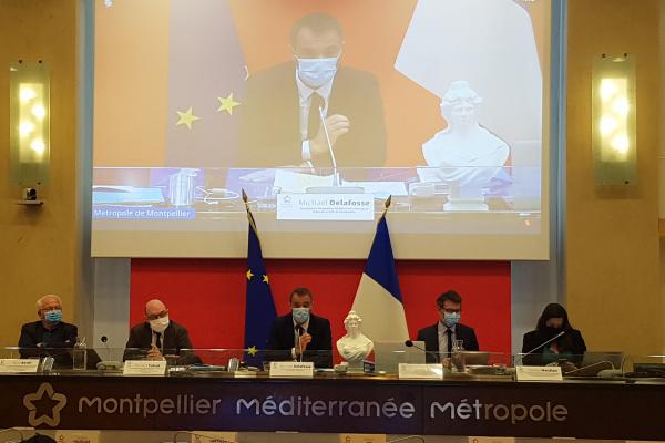 Conseil métropolitain du 29 mars 2021