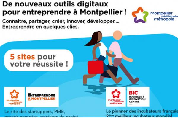 De nouveaux outils digitaux pour entreprendre à Montpellier