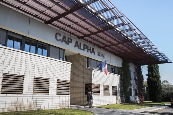 Située à Clapiers, Cap Alpha propose des locaux adaptés aux entreprises des secteurs sciences du vivant et cleantech ©David Crespin