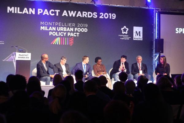 """Montpellier, récompensée lors de la cérémonie des """"Milan Pact Awards"""""""