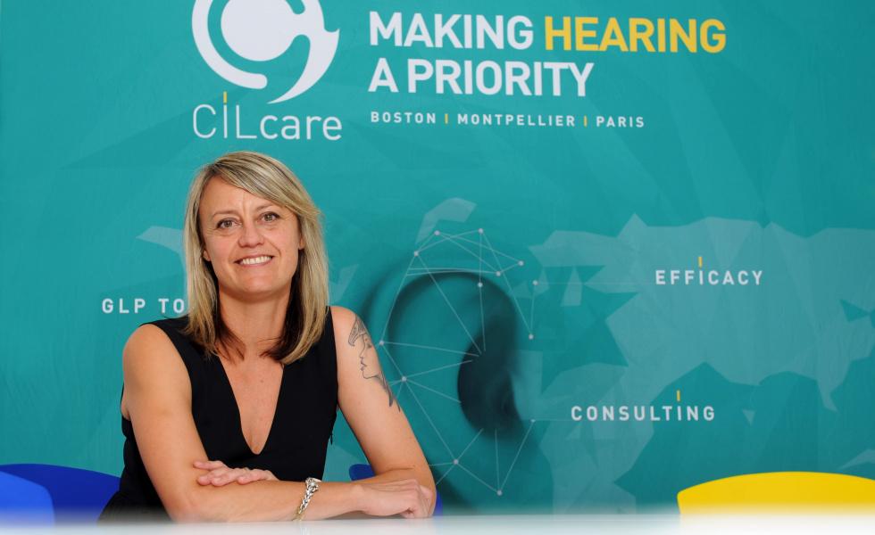 Celia Belline, présidente de CILcare. © Edouard Hannoteaux