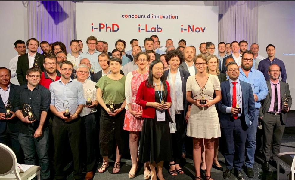 3 entrepreneurs issus du BIC lauréats du concours i-LAB 2019 @ministère de l'Enseignement supérieur