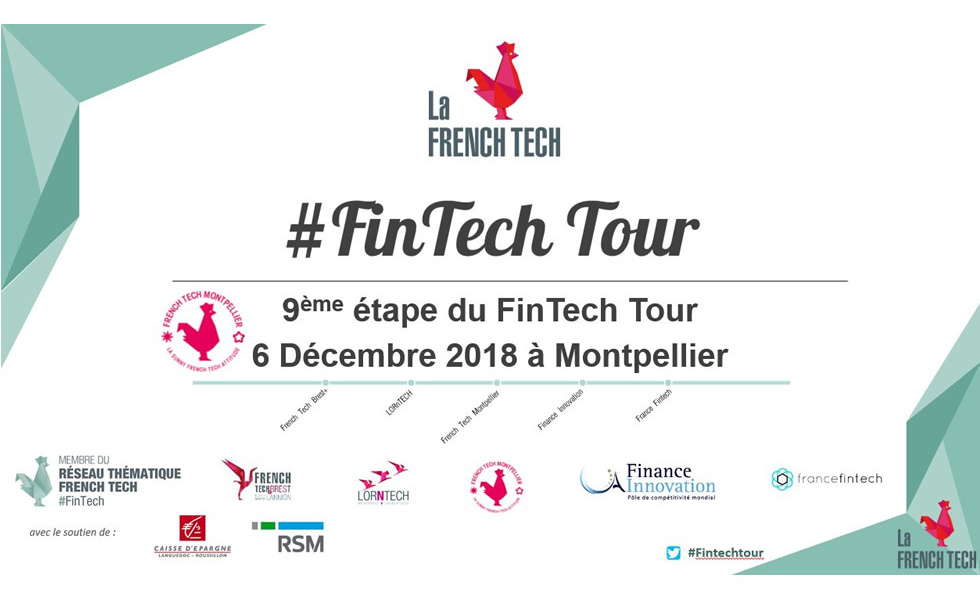 Affiche Fin Tech Tour Montpellier