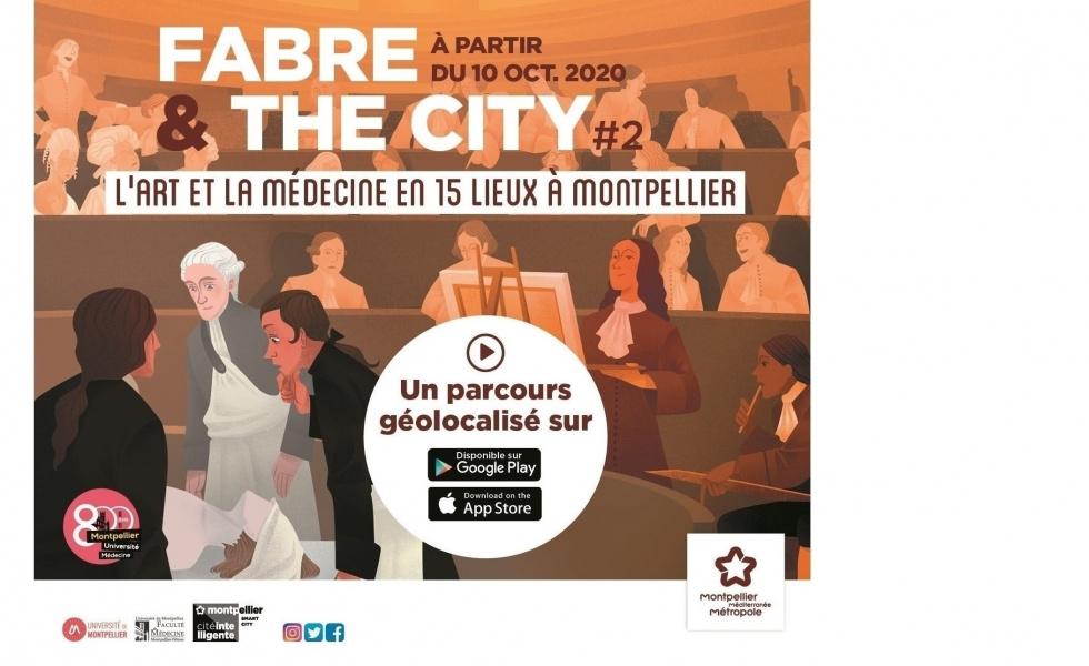Fabre & the city #2 : une application pour une promenade culturelle
