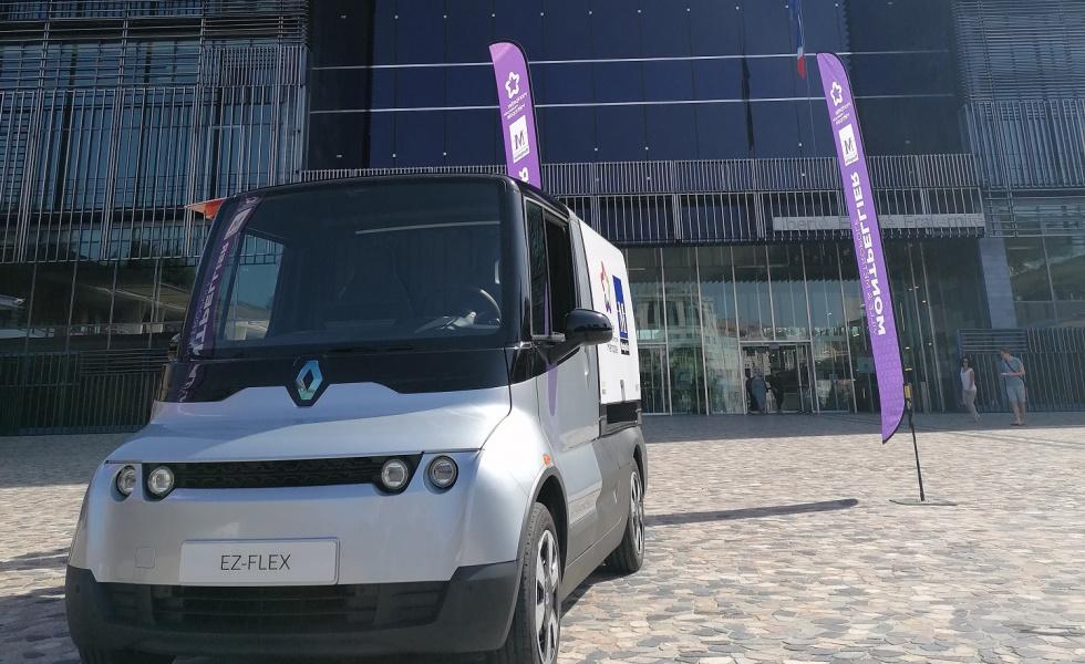 En route pour une nouvelle expérimentation d'un véhicule utilitaire 100% électrique et connecté