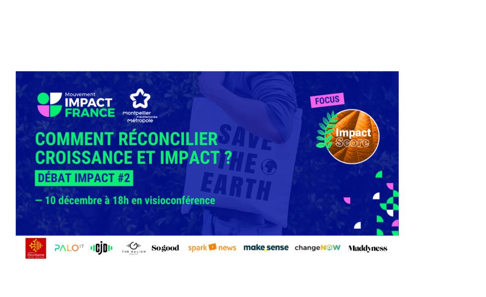 Mouvement Impact France 2020 à Montpellier