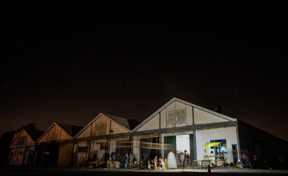 La Halle Tropisme de nuit - Photo © Marielle Rossignol