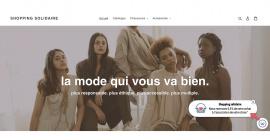 Shopping solidaire : l'utilisateur choisit l'association à soutenir