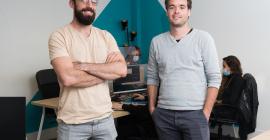 Photo des co-fondateurs de WeFight, Pierre Nectoux et Benoît Brouard @pierre_bruynooghe